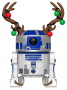 Funko POP Bobble: Star Wars: Holiday R2-D2 w/ Antlers