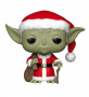 Funko POP Bobble: Star Wars: Holiday Santa Yoda