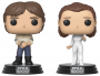 Funko POP Star Wars: The Empire Strikes Back: Han Solo & Princess Leia