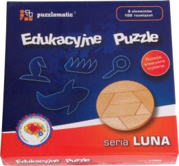Edukacyjne Puzzle - seria Luna