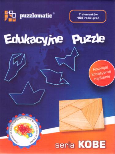 Edukacyjne Puzzle - seria Kobe