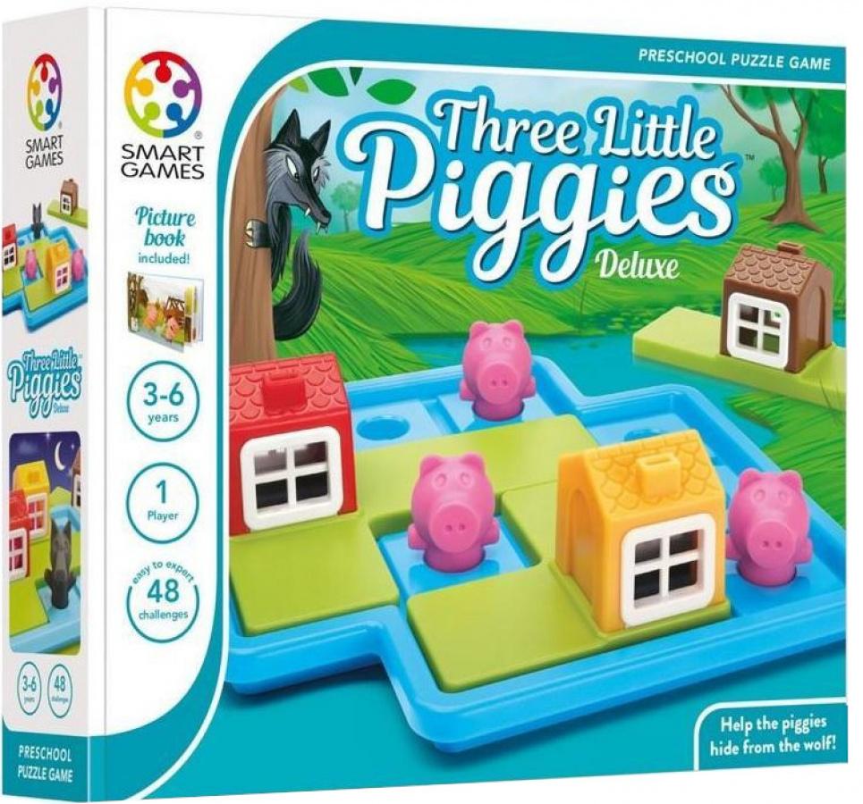 Smart Games - Three Little Piggies Deluxe (Trzy małe świnki)