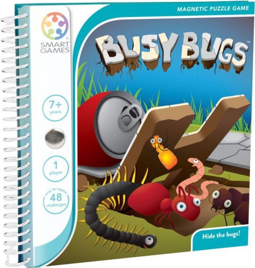 Smart Games - Busy Bugs (Robaczki) - Gra magnetyczna