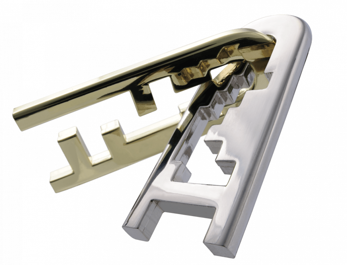 Łamigłówka Huzzle Cast Keyhole - poziom 4/6