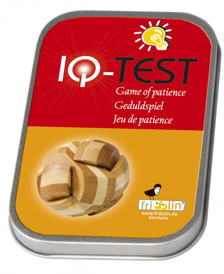 IQ-Test 3D puzzle - Piłka bambus