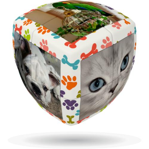 V-Cube 2 Zwierzęta Domowe (2x2x2) wyprofilowana