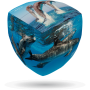 V-Cube 2 Delfiny (2x2x2) wyprofilowana