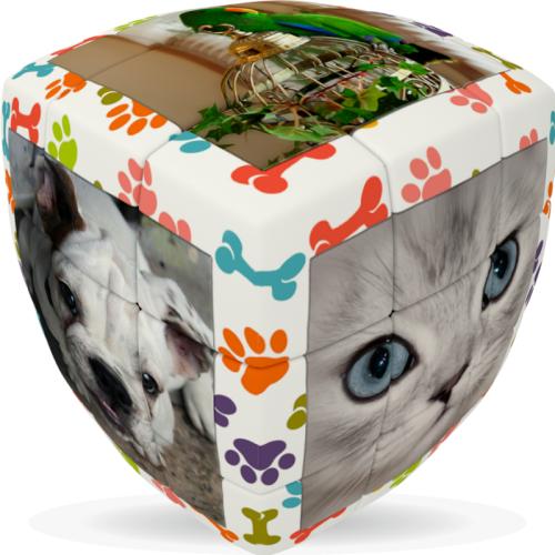 V-Cube 3 Zwierzęta Domowe (3x3x3) wyprofilowana
