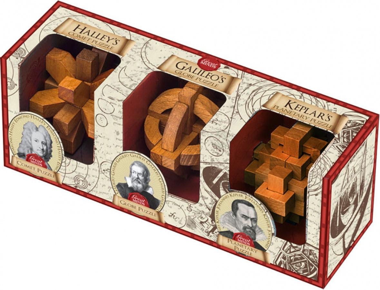 Łamigłówka Great Minds - Set of 3 - Halley, Galileo and Kepler)