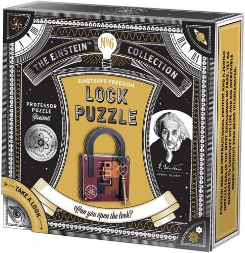 Professor Puzzle - Einstein - Lock Puzzle