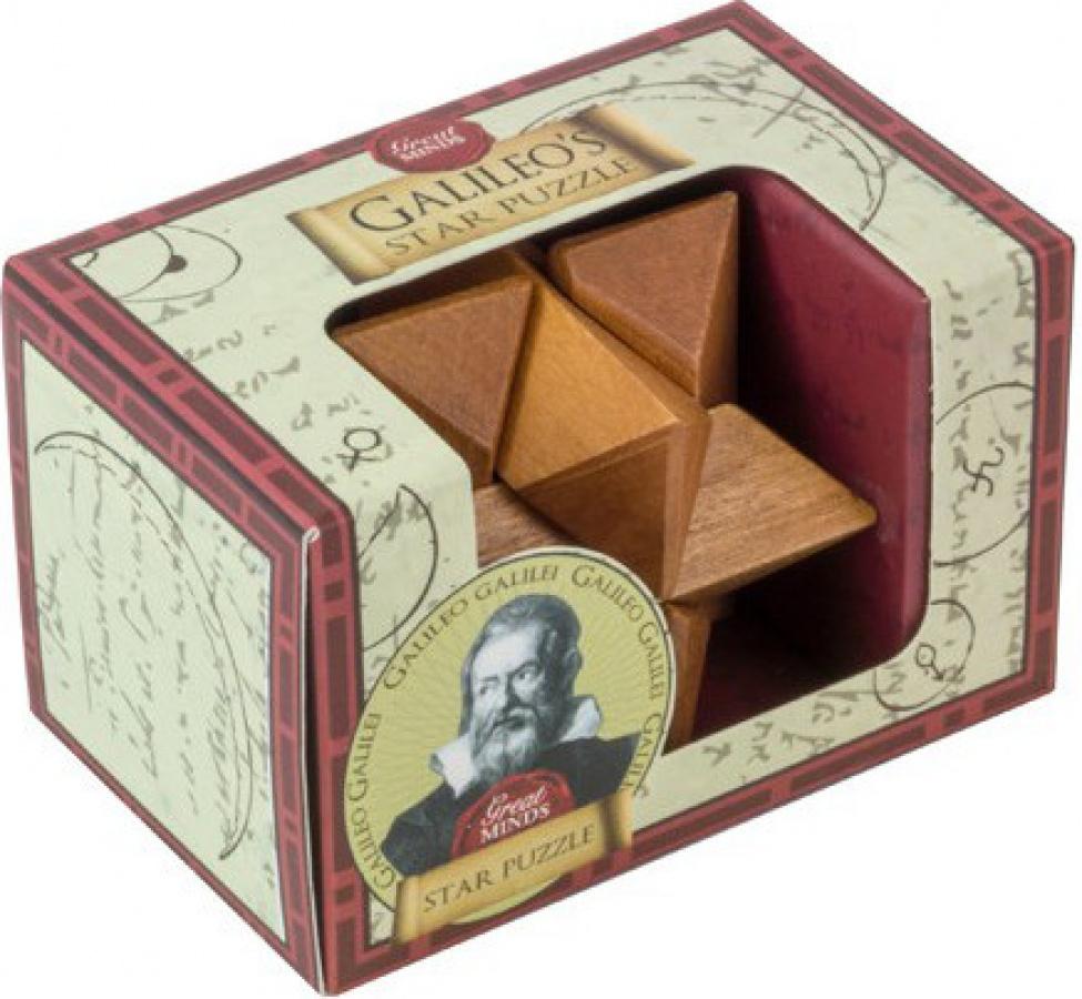 Łamigłówka Great Minds - Galileo's Star Puzzle (drewniana)