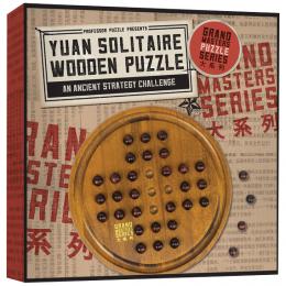 Professor Puzzle - Yuan Solitaire Wooden Puzzle