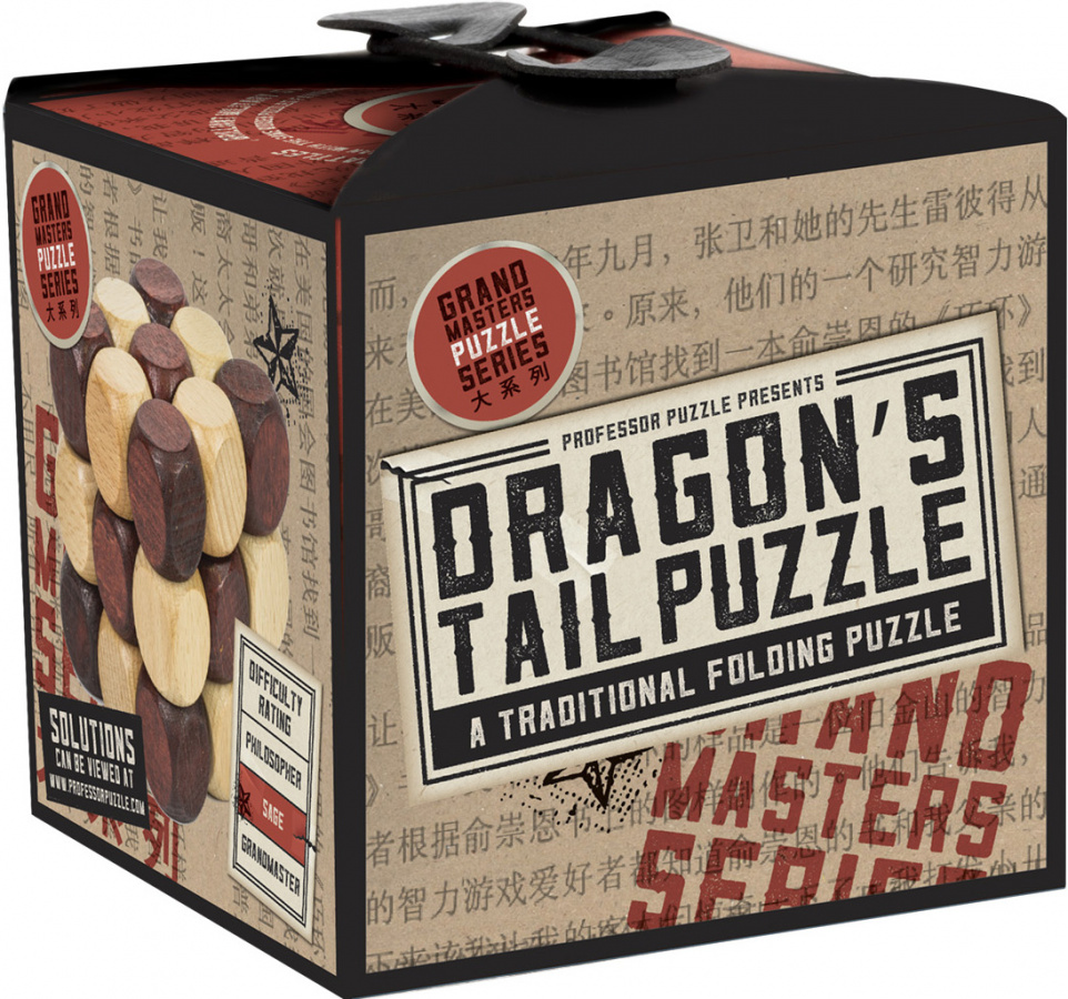 Professor Puzzle - Grand Masters - Dragon's Tail Puzzle