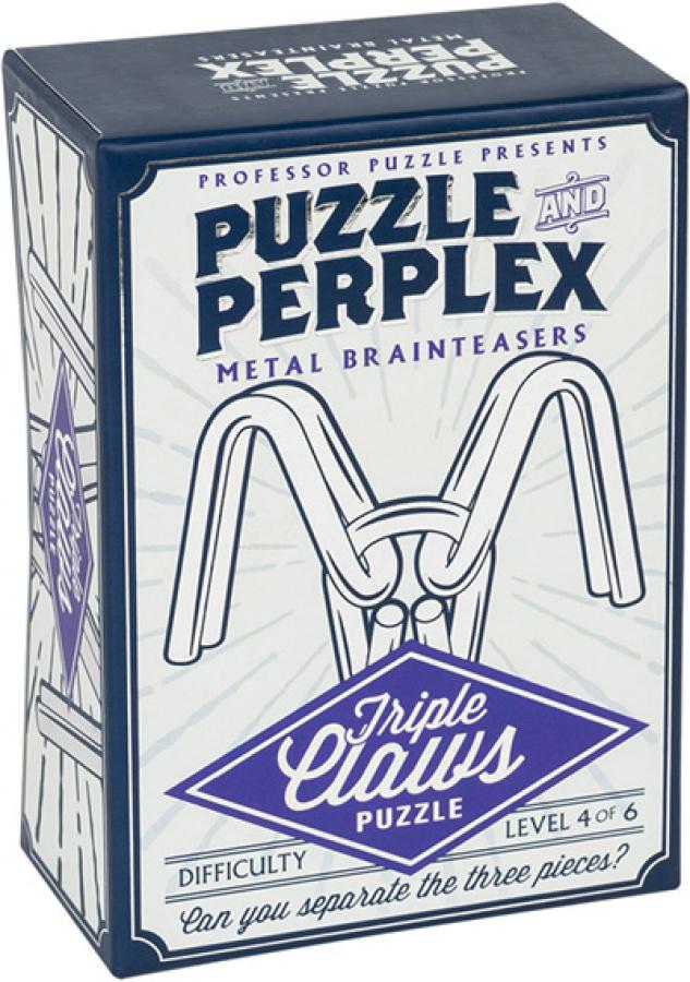 Professor Puzzle - Puzzle & Perplex - Triple Claws